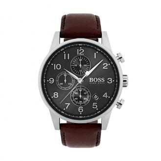 Montre Homme Hugo Boss Navigator cuir marron 1513494