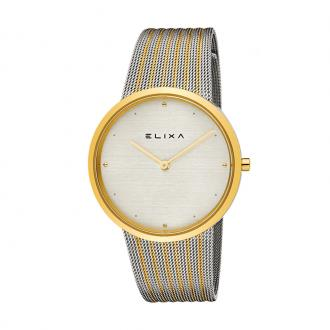 Montre Femme Elixa Beauty dorée et argentée E122-L498