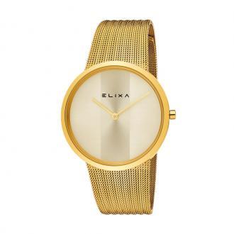 Montre Femme Elixa Beauty dorée E122-L500