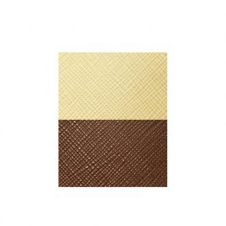 Cuir pour manchette Marron et beige UBS84027 – LARGE