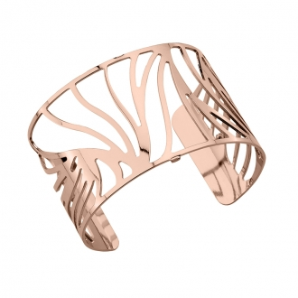 Bracelet Les Georgettes Perroquet Large finition or rose brillant 70261624000000