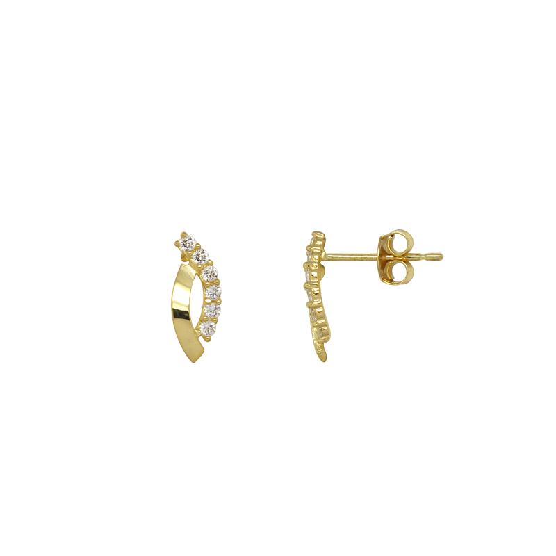 Boucles d'oreilles Carador Or jaune375/000e FE2900