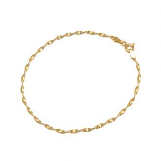 Bracelet Carador Or jaune Maille Torsade H25020CNJ18
