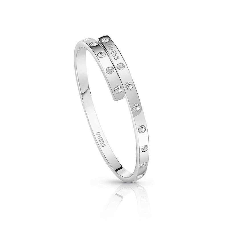 Bracelet jonc Femme Guess argenté UBB84050-M