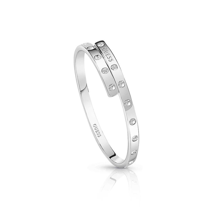 0b3521b8ba Bracelet jonc Femme Guess argenté UBB84050-M pour FEMME