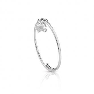 Bracelet jonc Femme Guess argenté UBB84054-M