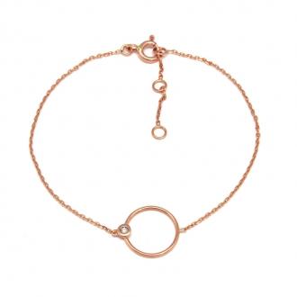 Bracelet Carador Or rose 375/000e - Coup de coeur