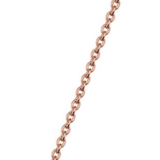 Chaine Les Georgettes 43/45 cm Finition doré rose 70311044000045