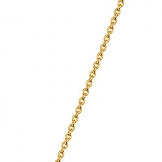 Chaine Les Georgettes finition doré 53 cm