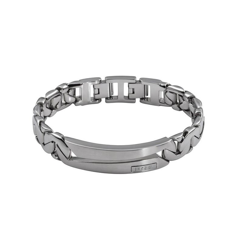 Bracelet Homme Fossil Mens Dress acier maille fantaisie JF84283040