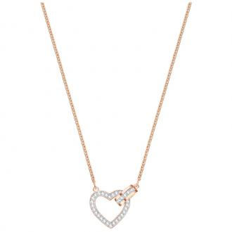 Collier Swarovski Lovely doré rose 5368540