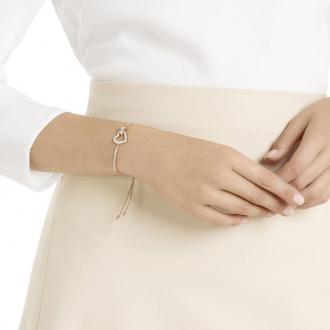 Bracelet Swarovski Lovely doré rose 5368541
