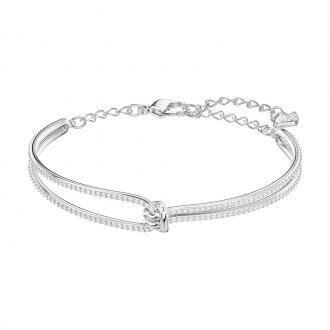 Bracelet Jonc Swarovski Lifelong argenté 5368552