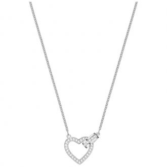Collier Swarovski Lovely argenté 5380703