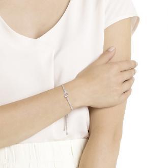 Bracelet Swarovski Lovely argenté 5380704