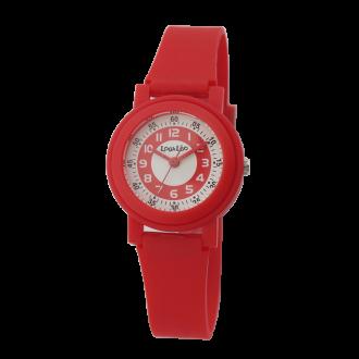 Montre enfant Lou&Léo plastique rouge P100648-B3