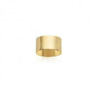 Bague Carador large anneau plaqué or