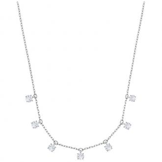 Ras-de-cou Swarovski Attract métal argenté 5367966