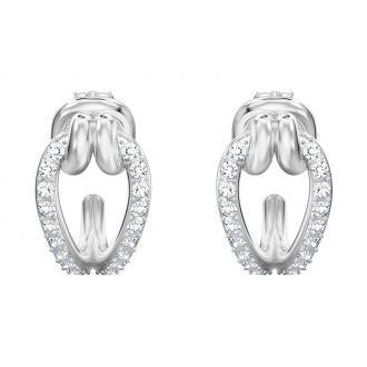 Boucles d'oreilles créoles Swarovski Lifelong métal argenté 5390814