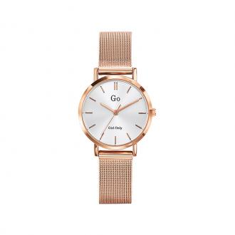 Montre Go girl Only doré rosé milanais 695961