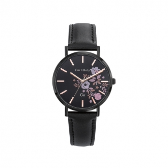 Montre Go Girl Only Black and Pink 699008