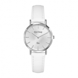 Montre Go Girl Only bracelet blanc 699048