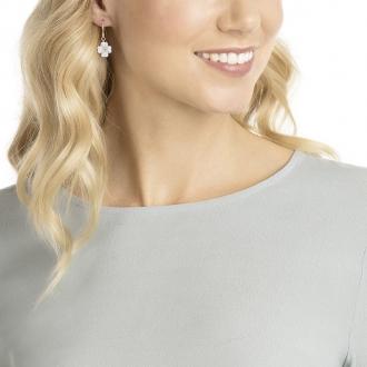 Boucles d'oreilles Femme Swarovski Latisha blanche 5420249