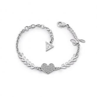 Bracelet Femme Guess Cupid argenté UBB85085-S
