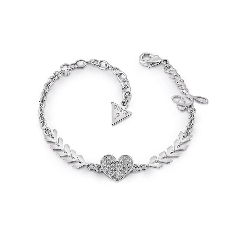 bracelet femme guess argent