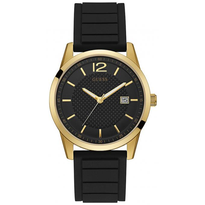 Montre Homme Guess Perry silicone noir W0991G2