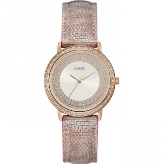 Montre Femme Guess Willow Cuir reptilme rose W1064L2