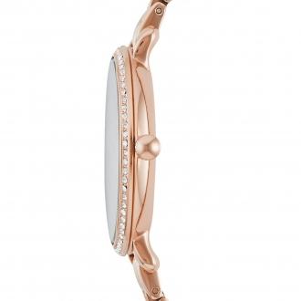 Montre Femme Fossil Jacqueline acier doré rose ES3546