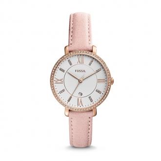 Montre Femme Fossil Jacqueline cuir rose ES4303