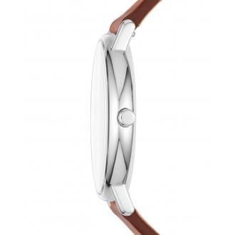 Montre Homme Skagen Signature cuir marron SKW6355
