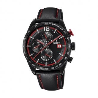 Montre Homme Festina Timeless noire et rouge F20344/5