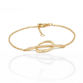 Bracelet Collection Carador en plaqué or 32EU0870CZ