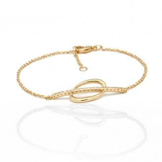 Bracelet Collection Carador en plaqué or 32EU0870CZ