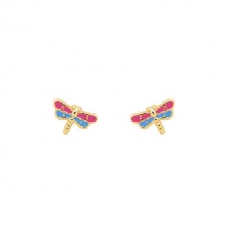 Boucles d'oreilles Carador Or jaune pour enfant P-1104