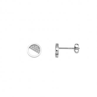 Boucles d'oreilles Femme Silver Pop cercle argent 925/000 RES00515