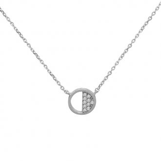 Collier Femme Silver Pop cercle argent 925/000 RNS00228