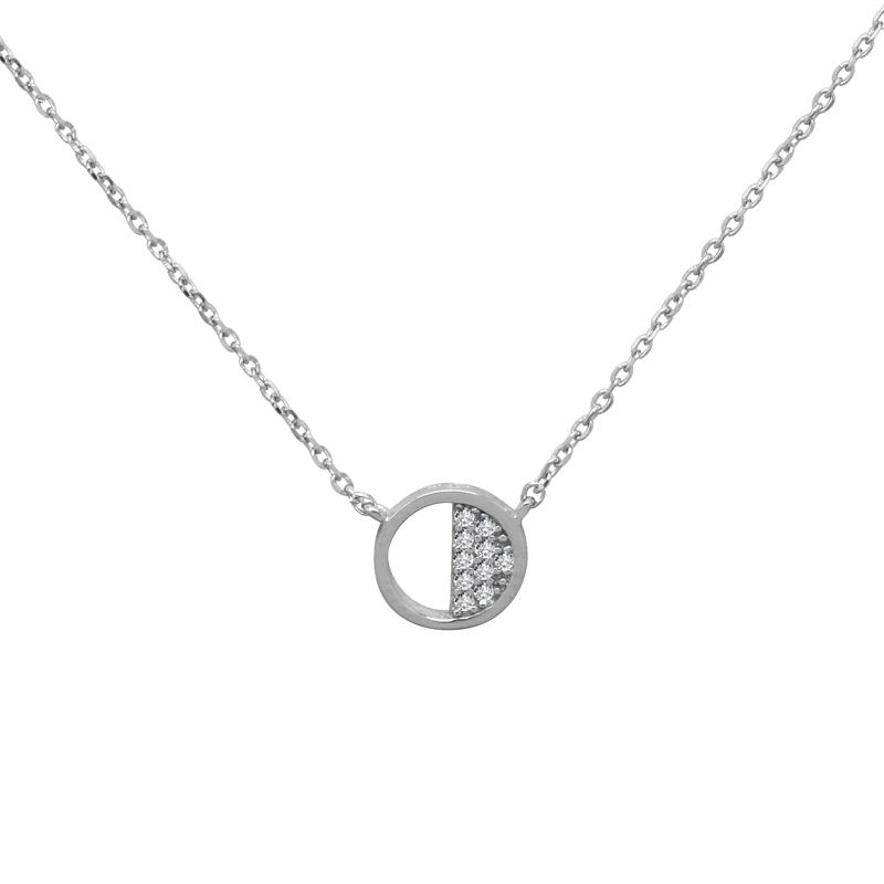 Collier Femme Silver Pop cercle argent 925/000