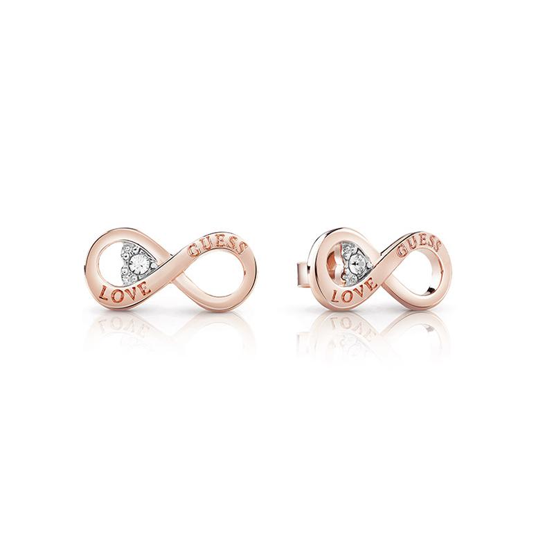 Boucles d oreilles Femme Guess Endless Love doré rose UBE85011 pour ... ac818b0b2678