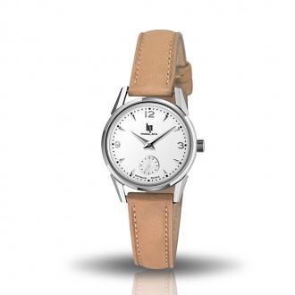 Montre femme LIP Himalaya classic cuir beige 671600