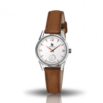 Montre femme LIP Himalaya classic cuir marron 671602