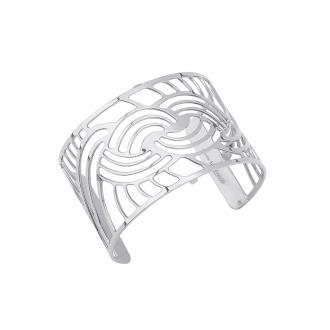 Bracelet manchette Les Georgettes Nouage 40 mm finition argent 70316331600000