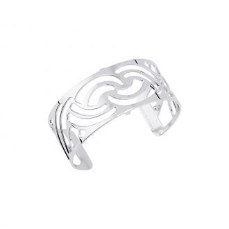 Bracelet Les Georgettes Nouage 25 mm finition argent 70316341600000