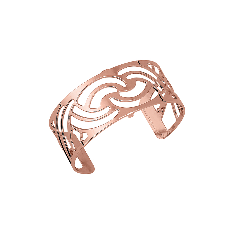 Bracelet Les Georgettes Nouage 25 mm finition or rose 70316344000000