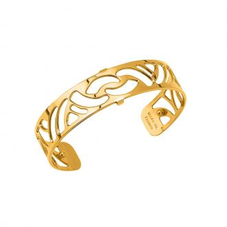 Bracelet Les Georgettes motif Nouage 14 mm finition or 70316350100000
