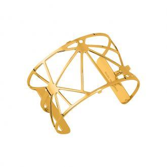 Bracelet manchette Les Georgettes Solaire 40 mm finition or 70316360100000