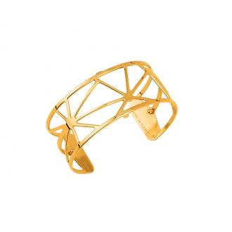 Bracelet Les Georgettes motif Solaire 25 mm finition or 70316370100000